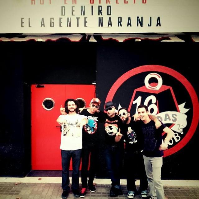 Ya están aquí !!! @denirogrupo junto a @EAN_oficial esta noche a las 22:30 @16toneladas_rockclub #valencia #conciertos #rock