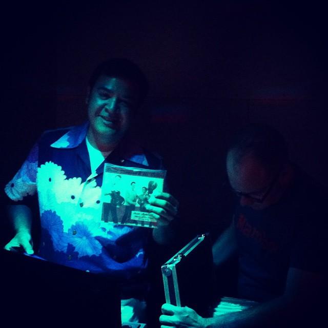 WATUSI DANCE PARTY ayer en @16toneladas_rockclub >>> después #bailongos hasta las 6,30h a ritmo de los djs David Nebot + Sr Varo + Tony