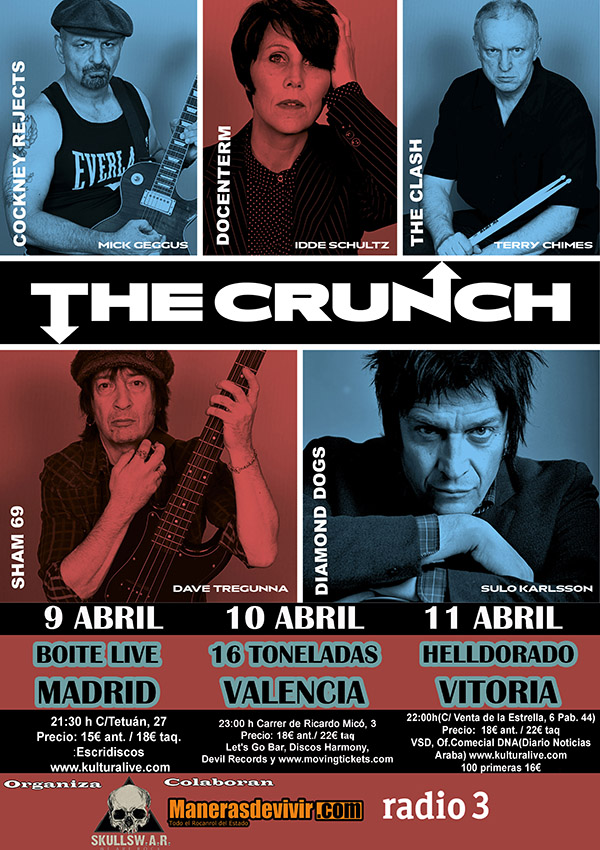 the crunch 16 toneladas
