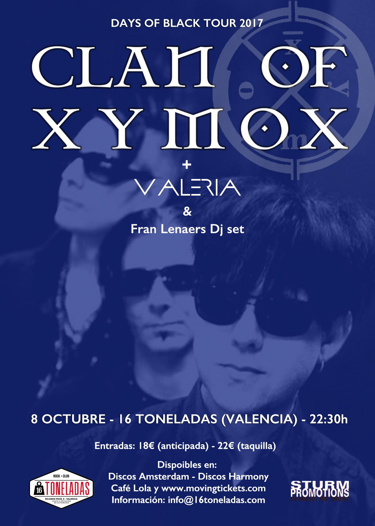 clan of xymox discografia